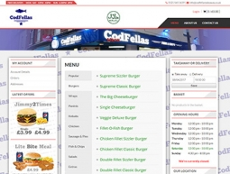 CodFellas Takeaway Website