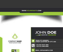 Business Card without Lamination