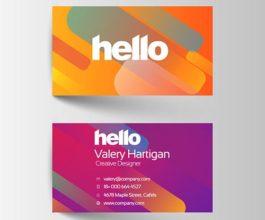 High Gloss/Velvet Laminated Business Card (400gsm)