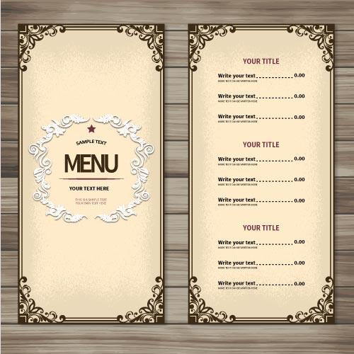 Menus & Leaflets