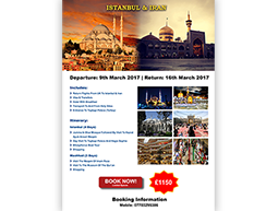 Istanbul & Iran Poster