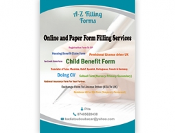 A-Z Filling Form Services Poster