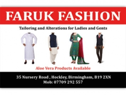 Faruk Fashion Business Card