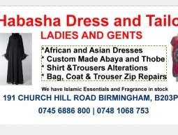 PVC BANNER – HABASHA DRESS AND TAILOR