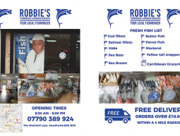 Robbies's Double Sided A5 Flyers