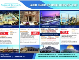 A3 Poster – Sabeel Travels Tour 2017-2018