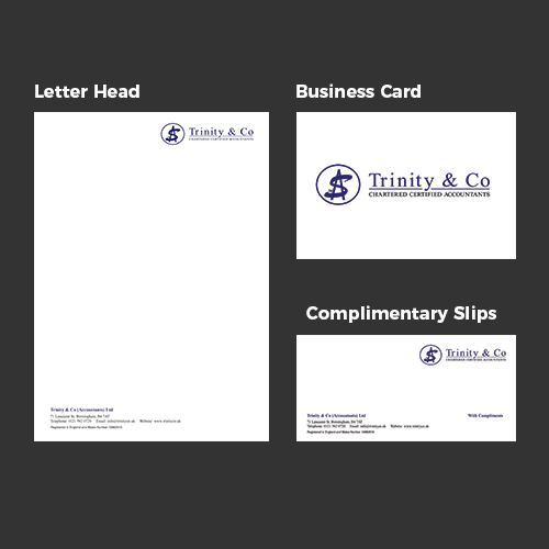 Trinity Co Stationery Set