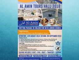 Al Amin Tours Hajj 2018 – Flyer