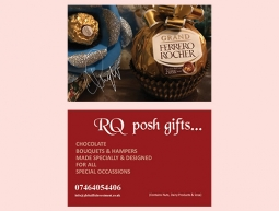 RQ Posh Gifts Business Card