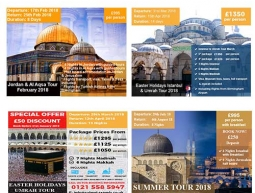 Sabeel Travel Web Page Banners 2018