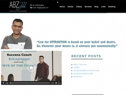 Abz Jalil Website