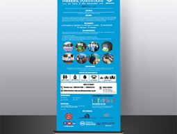 Paradise Plantations Roll Up Banner