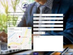 Trinity Co Accountants Landing Page