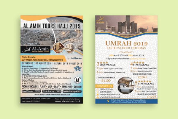 Al Mumin Flyer Designs