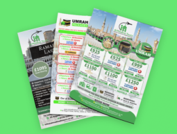Al Madina Tours Design & Flyers
