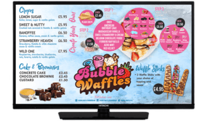 TV SMART SCREEN -Bubble Waffle Screen 1