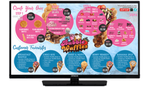 TV SMART SCREEN -Bubble Waffle Screen 2