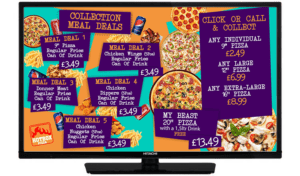 TV SMART SCREEN - Hotbox Collection Meal Deals