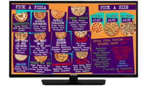 TV SMART SCREEN - Hotbox Pick a Pizza