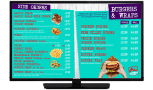 Hotbox Pizza Burgers Wraps Screen
